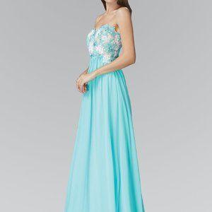 Sweetheart Neck Strapless Prom Dress GSGL2050